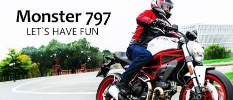 Newモデル Monster 797